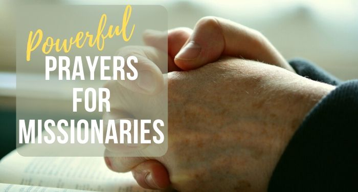 best prayers for missionaries