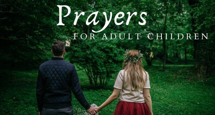 Prayers for adult children