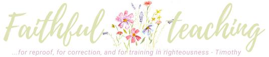 Faithful Teaching