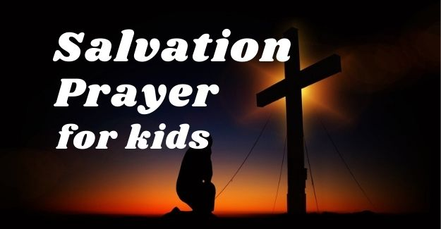 salvation prayer for kids