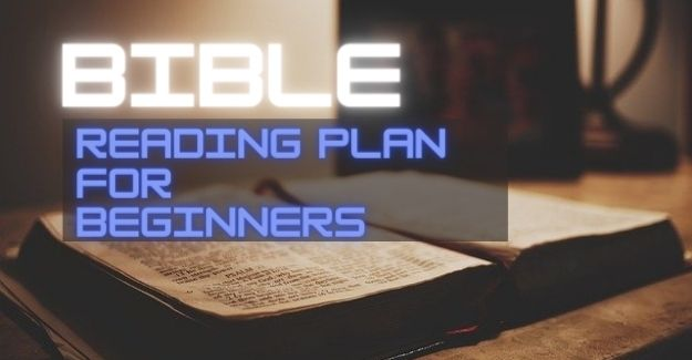 Bible reading plan for beginners