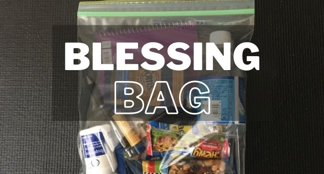 blessing bag checklist