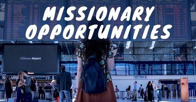 places for missionary opportunities