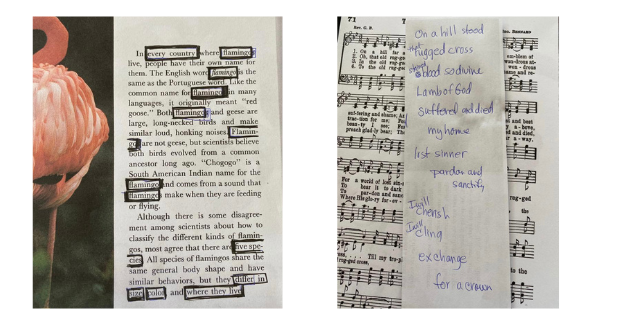 blackout poetry examples 1